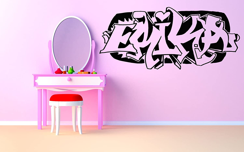 Wall Room Decor Art Vinyl Sticker Mural Decal Erika Graffiti Baby Name Kids Bedroom Nursery Playroom AS2767