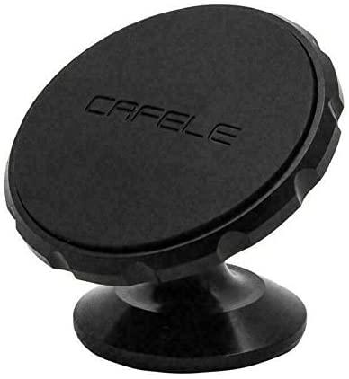 MACHSWON Universal Magnetic Ball Magnet Car Holder Mount For GPS Smart Phone (Black)