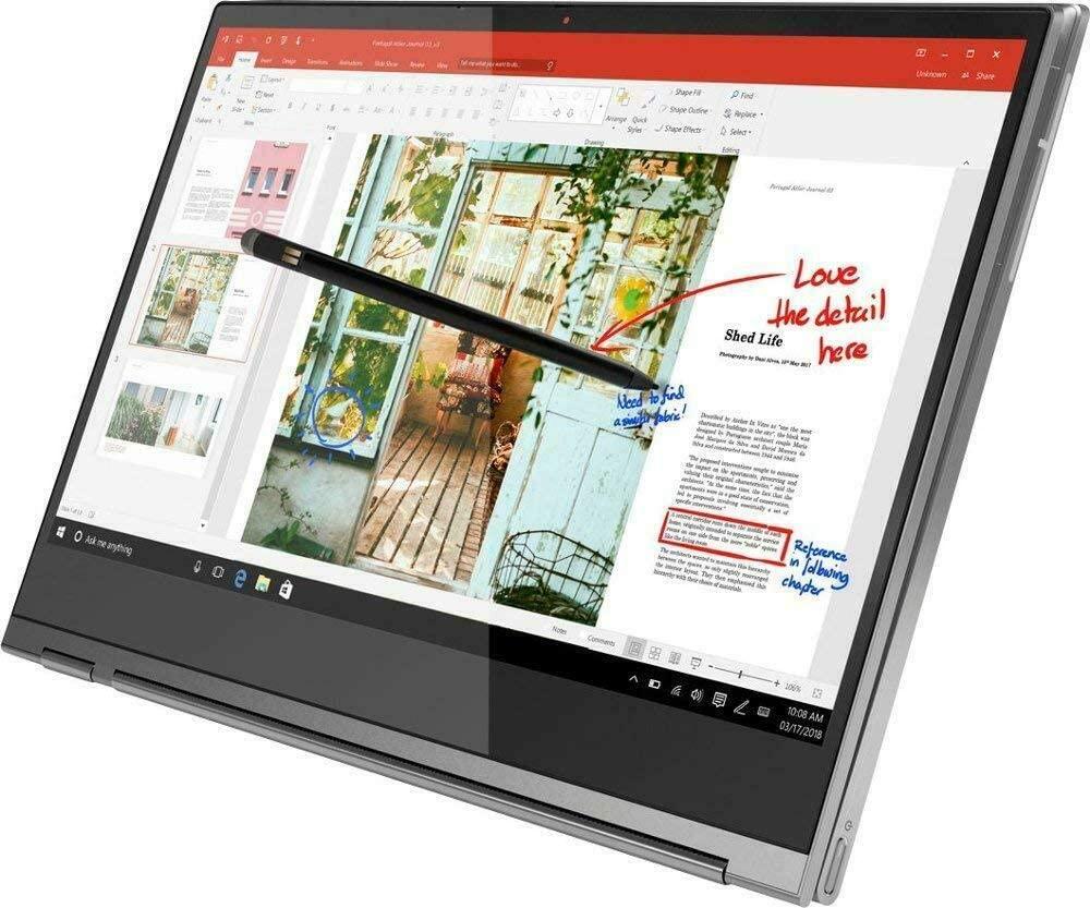 Lenovo Yoga C930 2-in-1 Laptop, 13.9