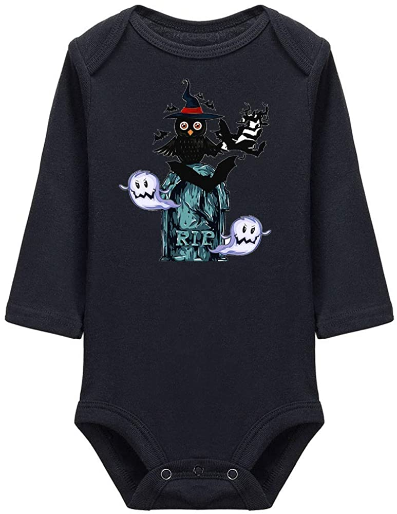 Aperiy Scary Nightmare Before Christmas Infant Climbing Long Sleeve Onesie