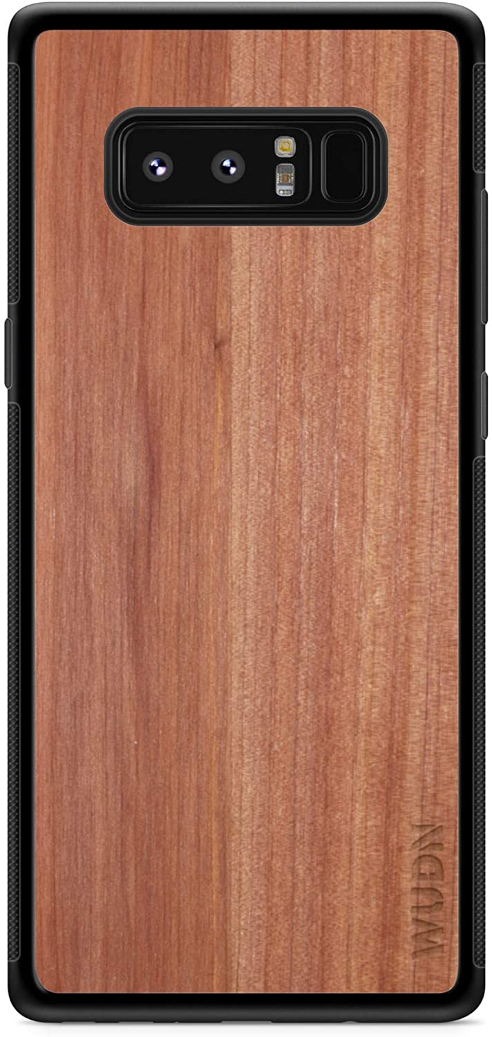 Wooden Phone Case - Real Aromatic Cedar, Compatible with Galaxy Note 8, Samsung Galaxy Note 8