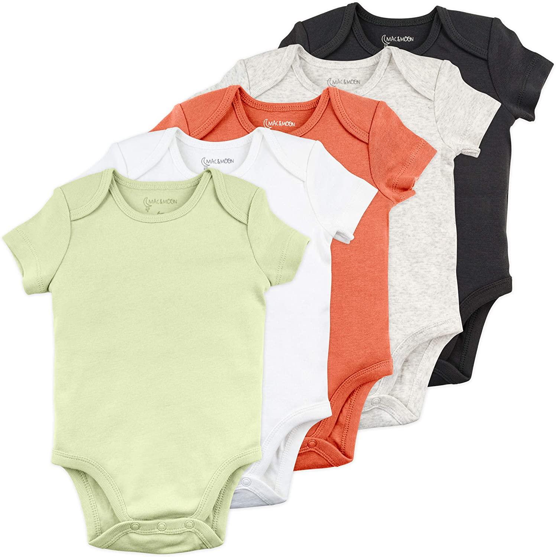 Mac & Moon Baby Onesies Newborn Onesies Baby Bodysuit Baby Bodysuit Set Boy…