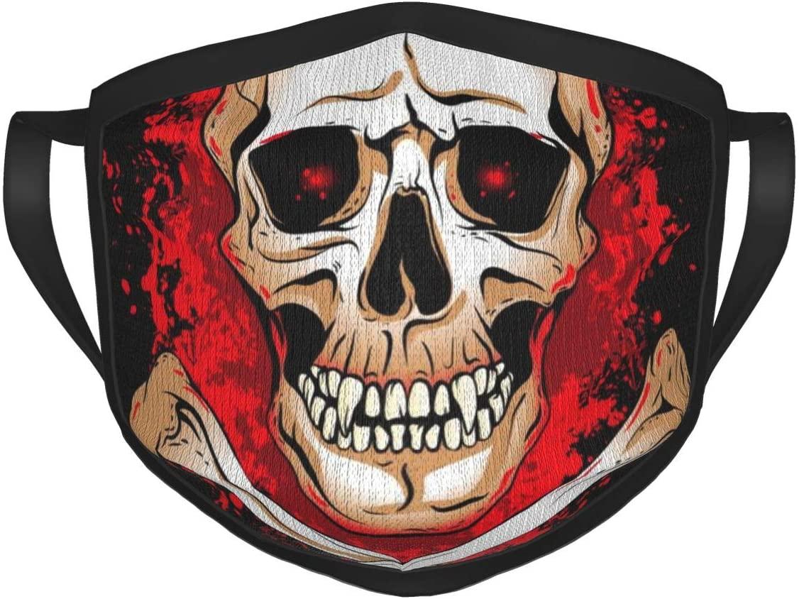 Wecye Multi Style Face Cover Up Mask, Reusable Comfortable Breathable Balaclava Half Face Bandana for Halloween Suprise Decoration