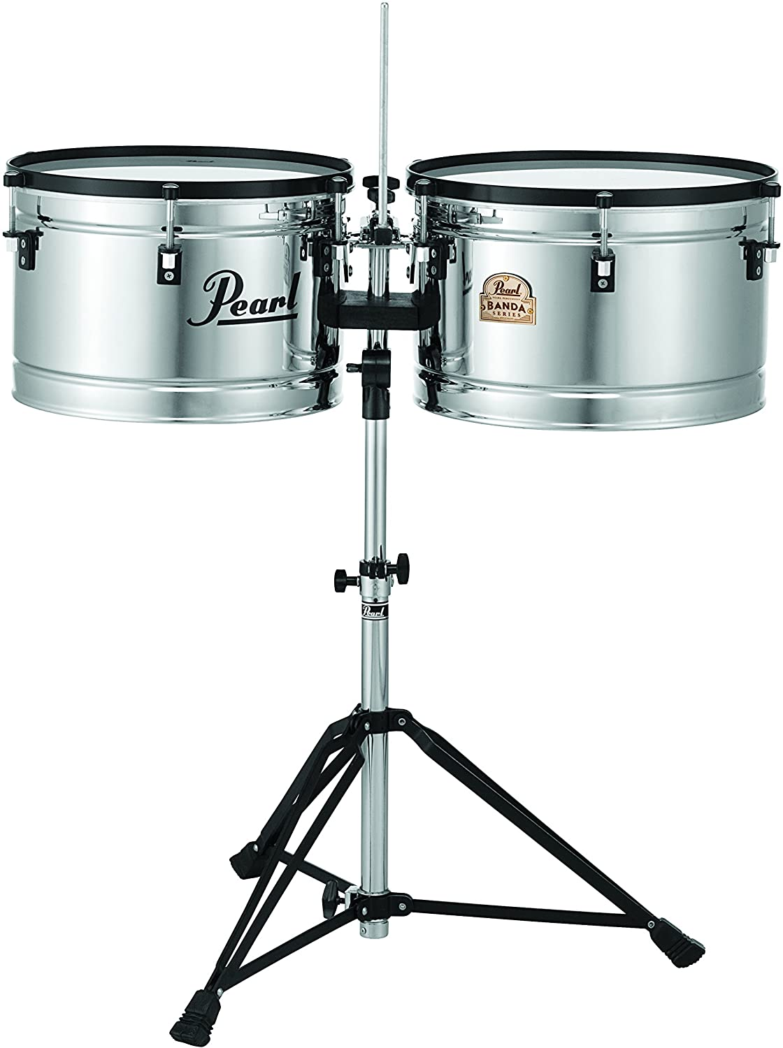 Pearl PBTM1516/C 15 x 10 Inches and 16 x 10 Inches Banda Timbales
