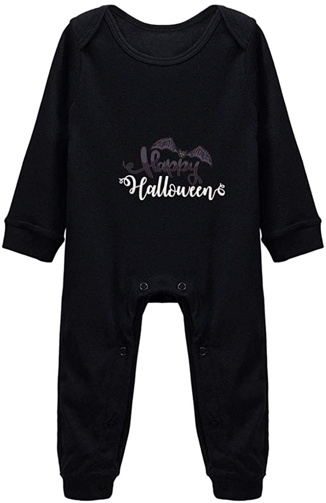 Ecley Happy Halloween Baby Boy Girl Clothes Cotton Bodysuit Romper 18-24 Month