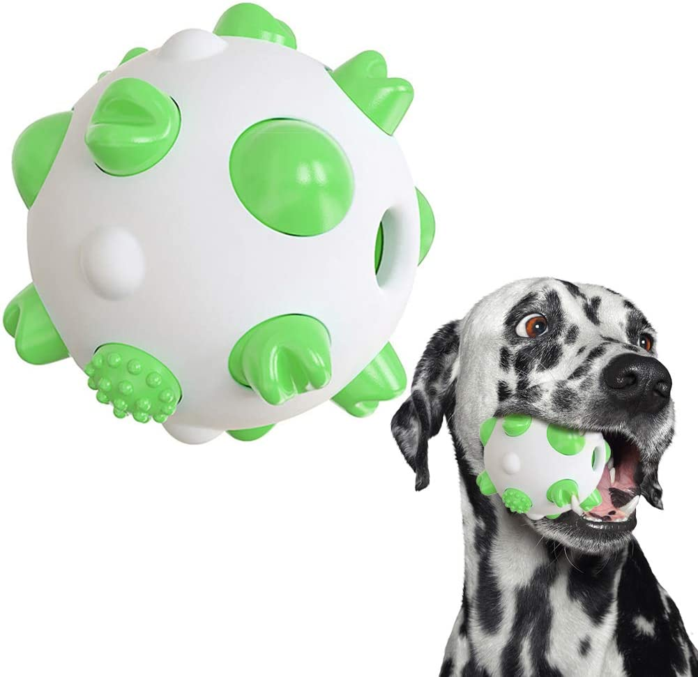 Rednut Interactive Dog Toys Balls,Pet Supplies Spherical Dog Toy,Dog Chew Toys for Aggressive Chewers,Dog Treat Food Dispensing Ball Toys for Small Large Dogs