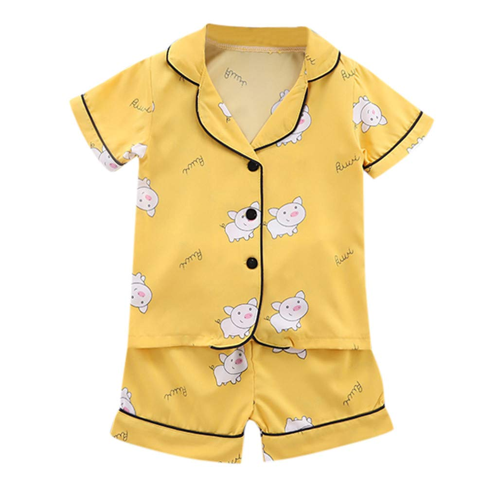 Newborn Baby Girl Clothes Cute Toddler Baby Girls Short Sleeve Floral Print Tops+Solid Shorts Outfits Christmas Fall Winter Clothes Sets