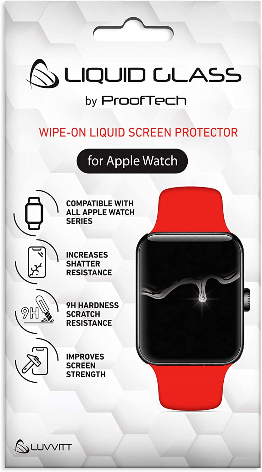 CrystalView Liquid Glass Screen Protector for Apple Watch All Series