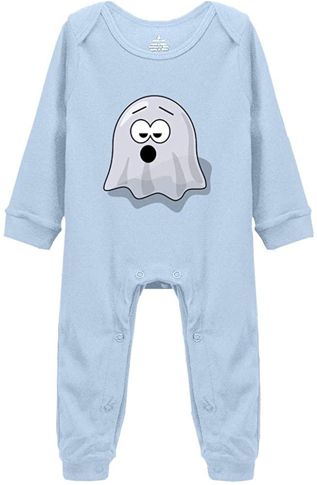 Eeypy Baby Unisex Long Sleeve Cotton Bodysuit Ghost Breathable Jumpsuit 100% Cotton Customize Jumpsuit