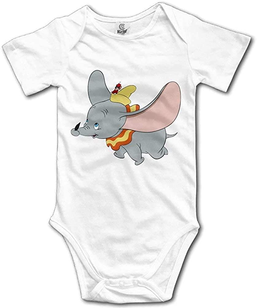 Migrater Popular Animal Elephant Dumbo Baby Onesies Baby Cotton Bodysuit