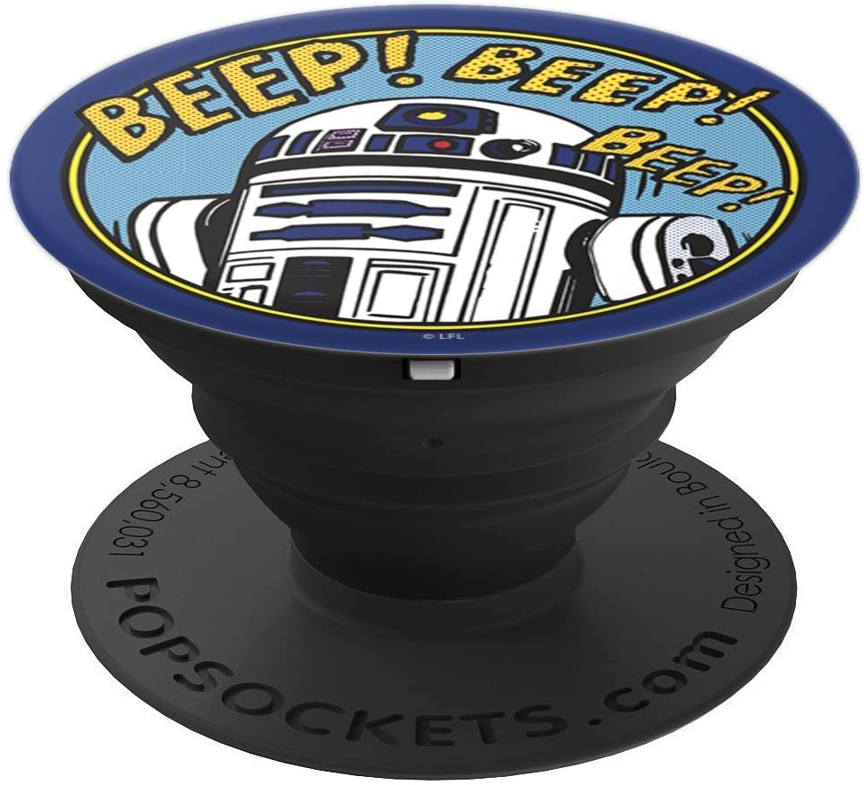 Star Wars R2-D2 Bleep Bleep Bleep PopSockets Grip and Stand for Phones and Tablets