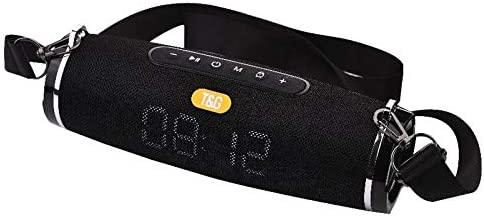 Waterproof Bluetooth Speaker & LED Clocks - Outdoor & Sport Stereo Bluetooth Wireless (Blue)