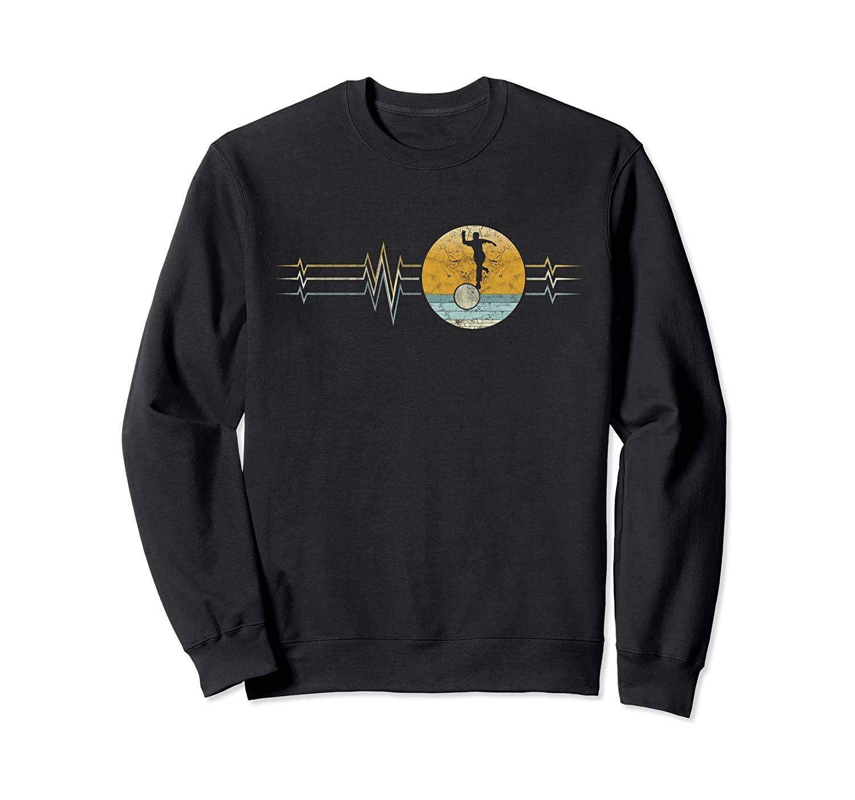 Retro Heartbeat Bowling Sport Lifeline Vintage Gift Sweatshirt
