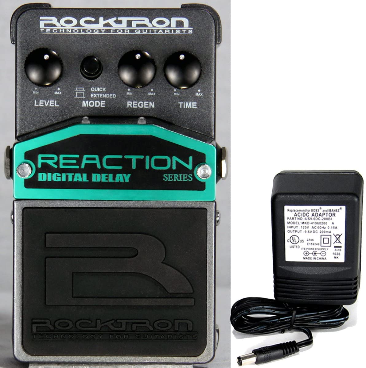 Rocktron Reaction Digital Delay Effect Pedal
