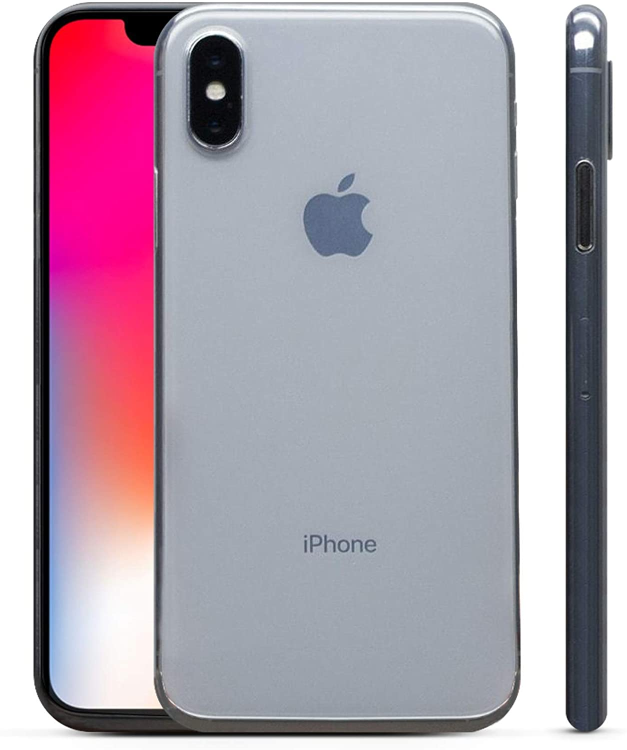 PEEL Ultra Thin iPhone X Case, Super Clear - Minimalist Design | Branding Free | Protects and Showcases Your Apple iPhone X