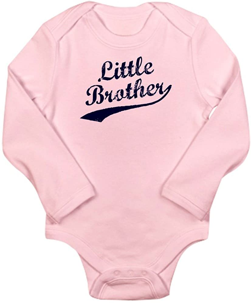 CafePress Little Brother Blue Body Suit Baby Bodysuit