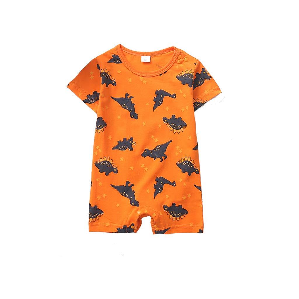 Boy Romper Jumpsuit Set Newborn Infant Baby Boy Girl Cartoon Dinosaur Romper Jumpsuit Outfits Clothes