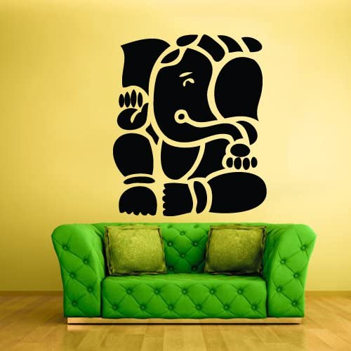 STICKERSFORLIFE Wall Vinyl Decal Sticker Decal Elephant Ganesh Ganesha India Buddha z247