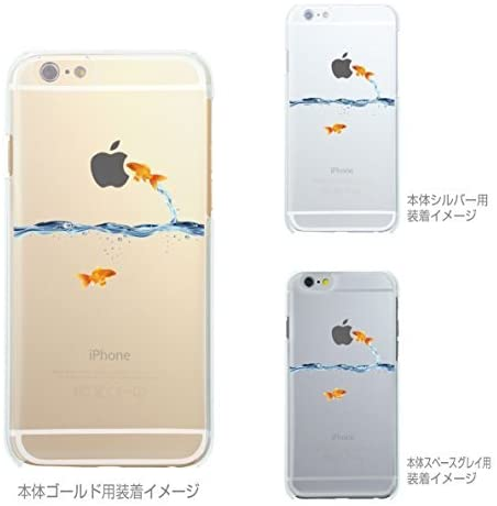 iPhone 6s Plus Case, iPhone 6 Plus Case, Made in Japan Soft Clear TPU Case Goldfish for iPhone 6 Plus & iPhone 6s Plus