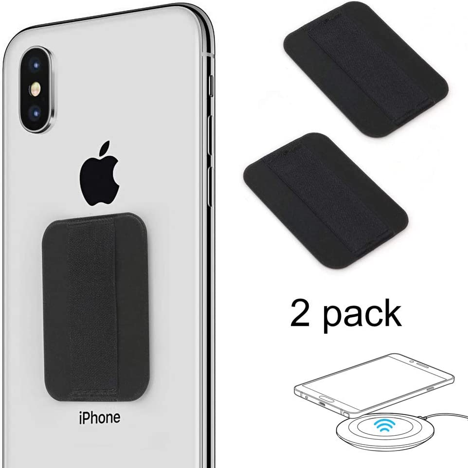 TUZAMA Original Finger Strap Phone Holder- Ultra Thin Anti-Slip Extend Thumb Reach Universal Cell Phone Grips Band Holder for Back of Phone