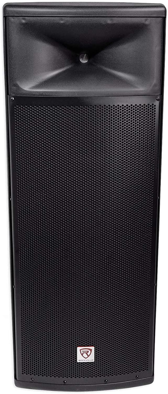"Rockville Dual 15"" 3000w 2-Way 8-Ohm Passive DJ PA Speaker/ABS Cabinet, 15 inch (SPGN258)"