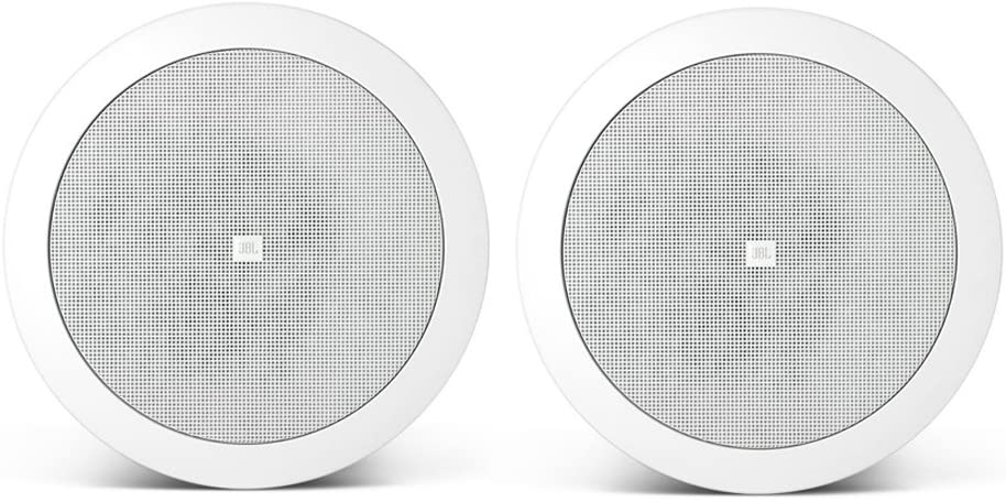 JBL Professional C24CT MicroPlus C24CT 4.5-Inch Ceiling Loudspeakers, White, Sold as Pair