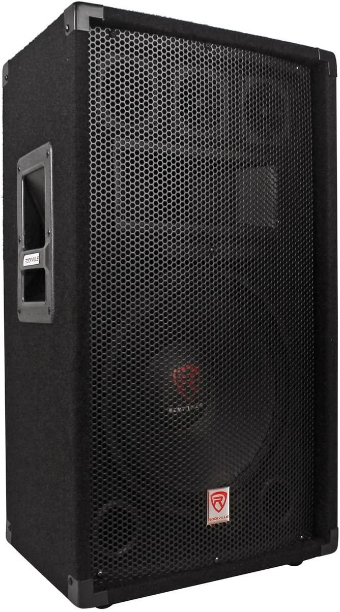 Rockville RSG12.4 12 3-Way 1000W 4 Ω Passive DJ/Pro Audio PA Speaker