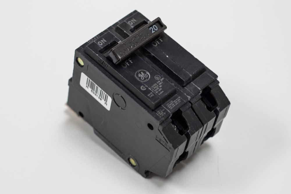 GE Distribution THHQB2130 Molded Case Circuit Breaker 30 Amp 120/240 Volt AC 2-Pole Bolt-On Mount