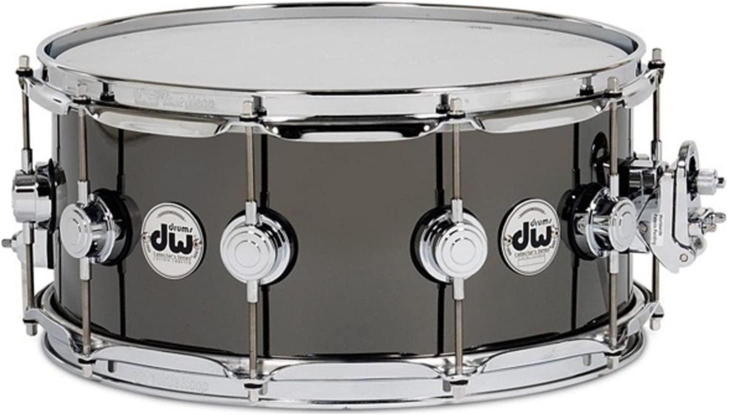 Drum Workshop Collector's Series Black Nickel over Brass Snare Drum - 5.5