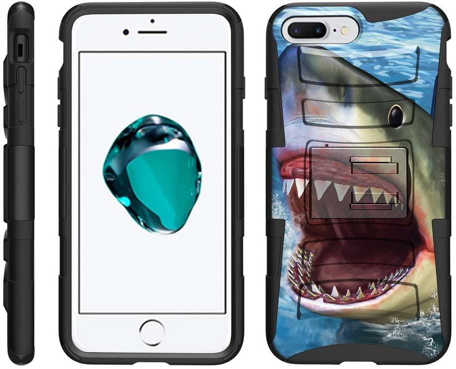 TurtleArmor | Compatible with Apple iPhone 8 Plus Case | (5.5