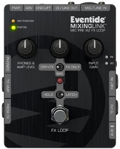 Eventide MixingLink Mic Pre with FX loop