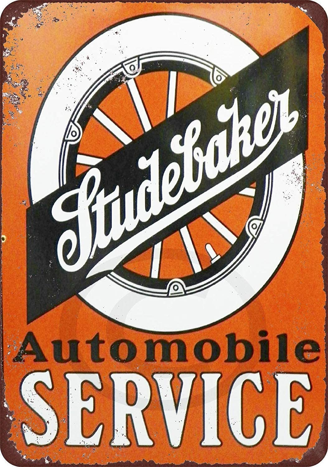 LPLED Wall Decor Sign Studebaker Automobile Service Rustic Vintage Aluminum Metal Sign 8x12 Inches (W4071)