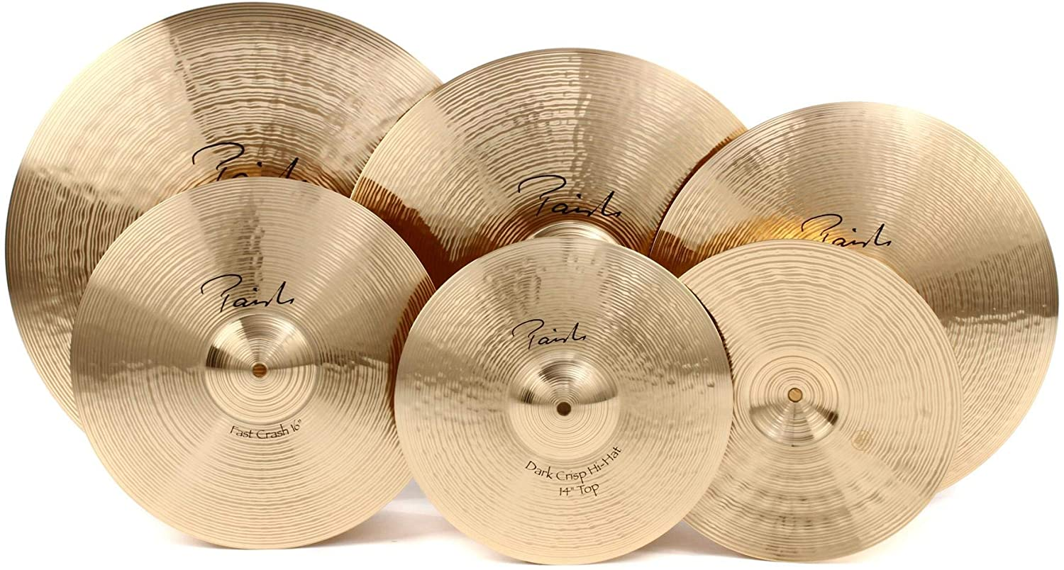 Paiste Signature Classic Cymbal Pack with Free 16 Inches Crash