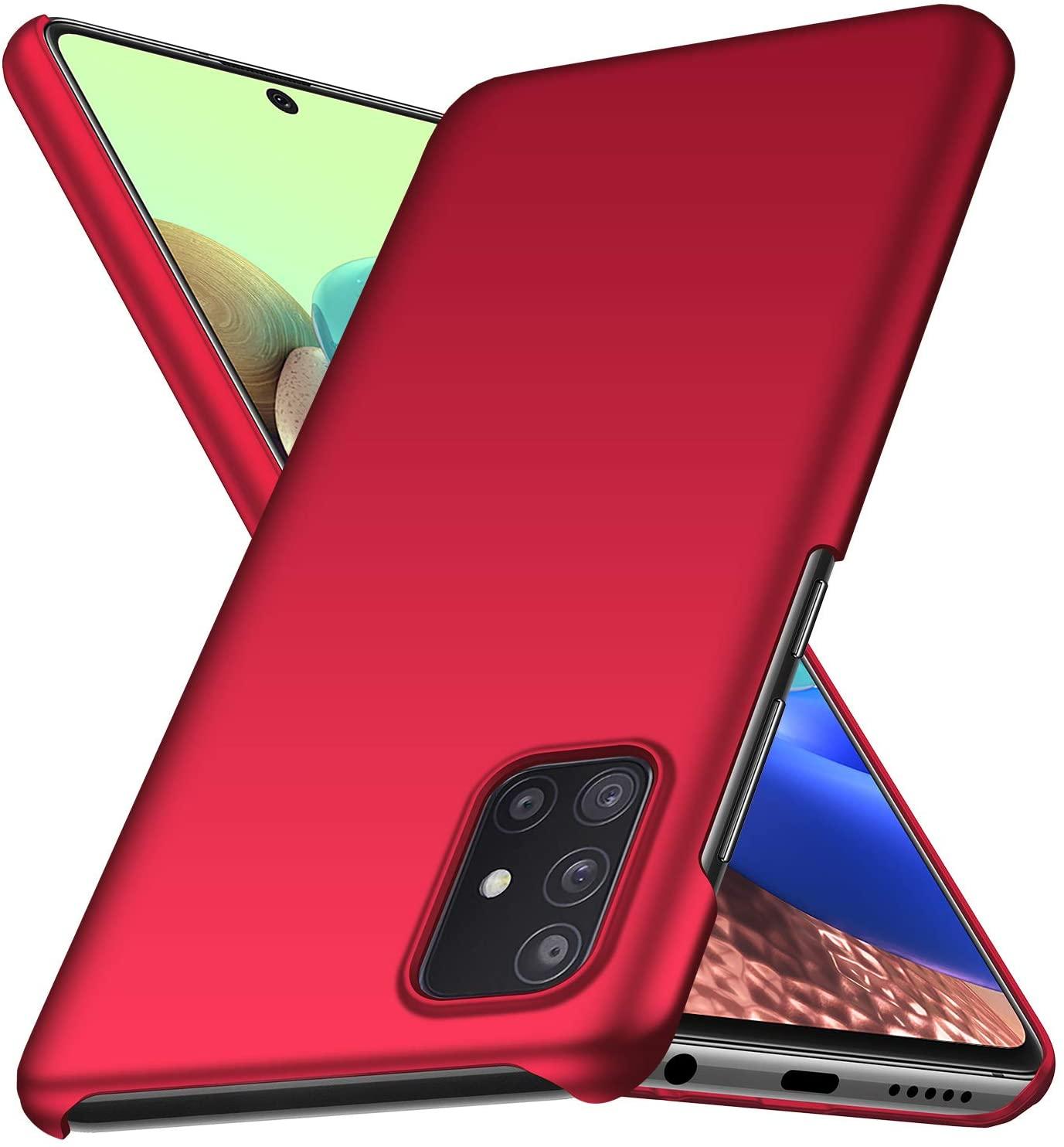 Banzn Case for Samsung Galaxy A71 5G,Slim Matte Anti-Fingerprint and Minimalist Hard PC Cover for Samsung Galaxy A71 5G (6.7