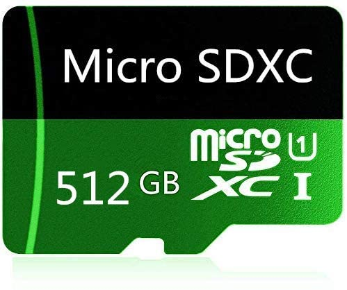 512GB Micro SD Card High Speed Class 10 SDXC with Free SD Adapter, Designed for Android Smartphones, Tablets and Other Compatible Devices (512GB-B)