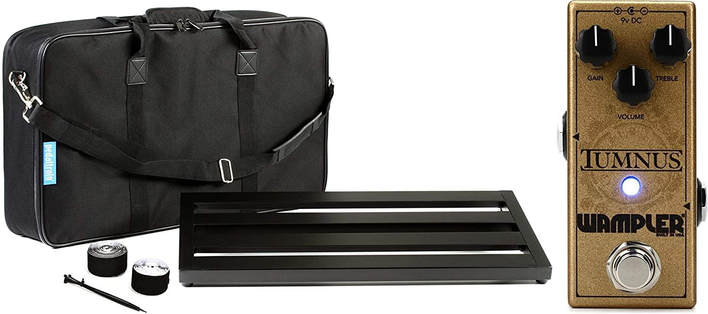 Wampler Tumnus Transparent Overdrive Pedal + Pedaltrain Classic 2 SC 24