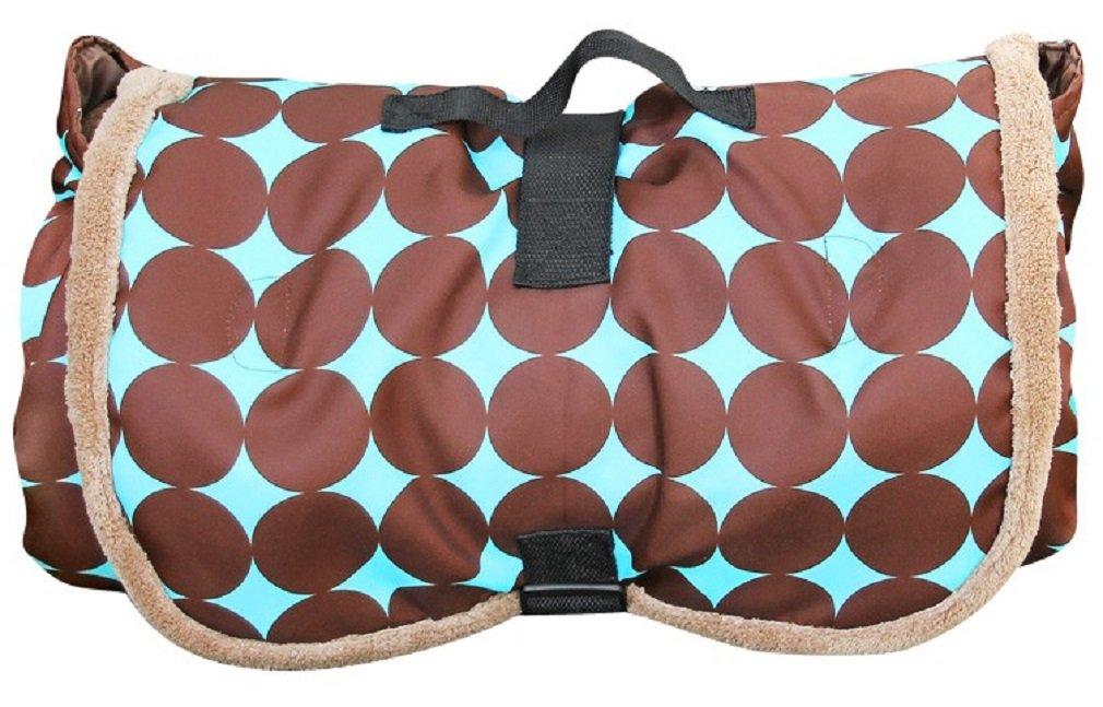 Bundle Blanket Travel Blanket and Play Mat (brown)