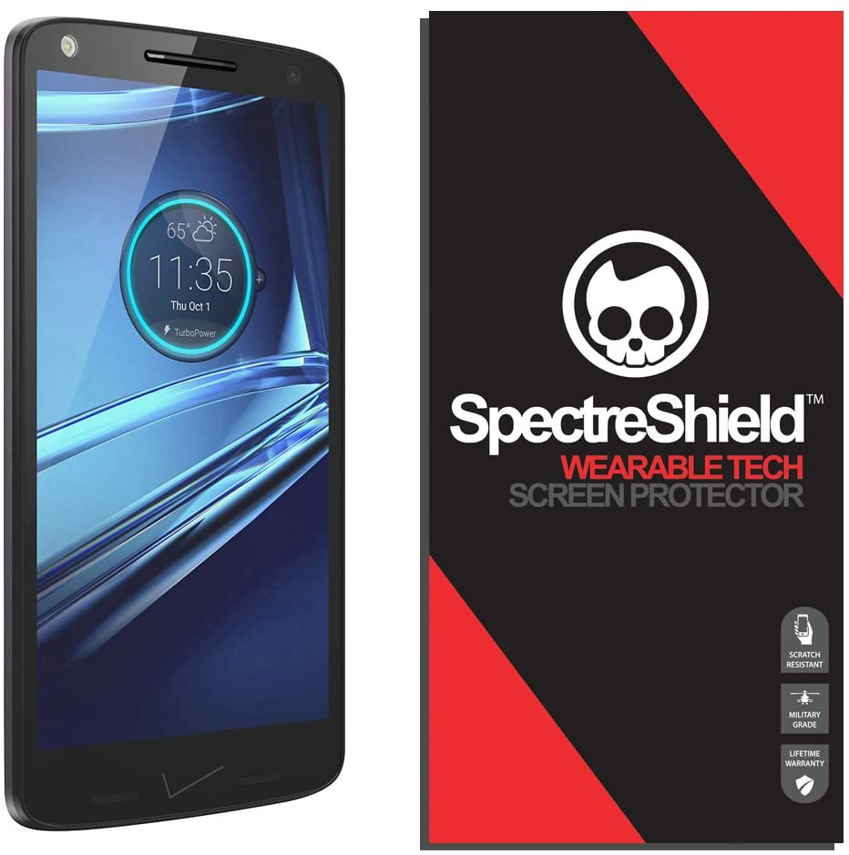Spectre Shield Screen Protector for Motorola Droid Turbo 2 (2015) Accessory Motorola Droid Turbo 2 Screen Protector Case Friendly Full Coverage Clear Film