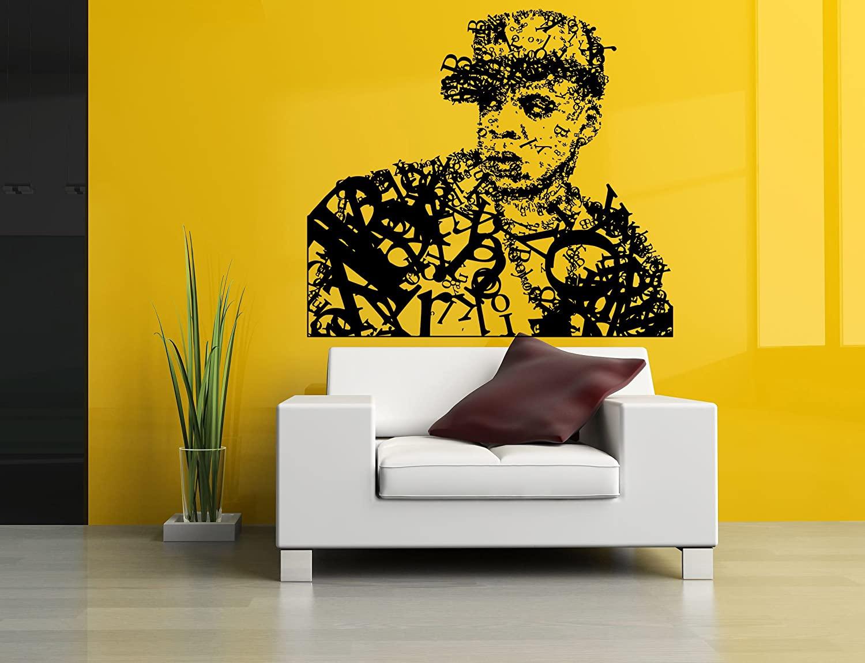 Wall Room Decor Art Vinyl Sticker Mural Decal Hip-Hop Artist Star Music Producer Legend Poster AS2004
