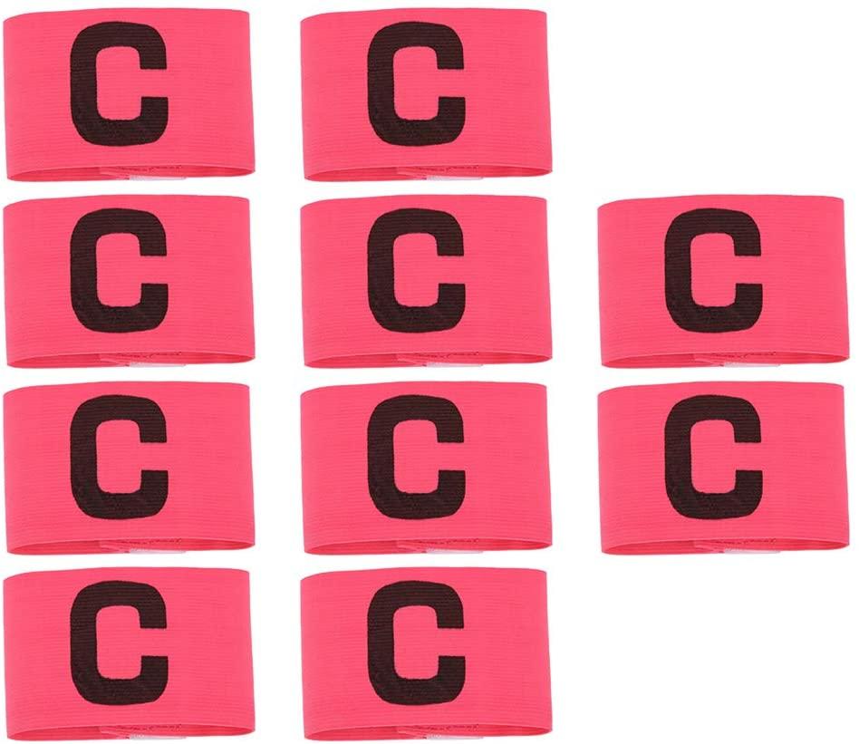 Keenso 10 Pcs C Word Armband, Nylon Elastic Fabric Running Winding C Word Exercise Football Header Game