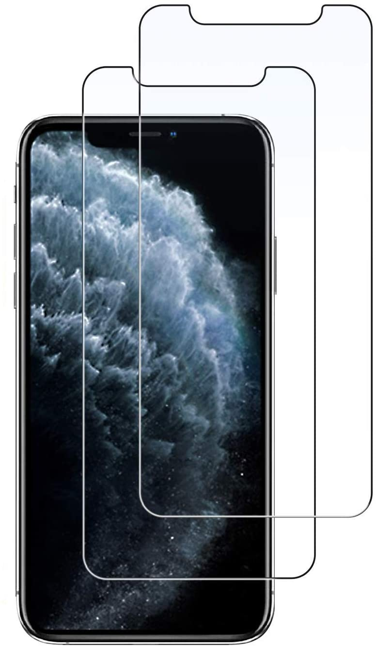 HongQ Screen Protector Film for iPhone Xs Max/11 pro Max 6.5 Inch Glass Ultra-Clear High Definition (HD) Screen Protector Tempered Glass,Tempered Glass Screen Protector All 6.5inch iPhone (6.5'')