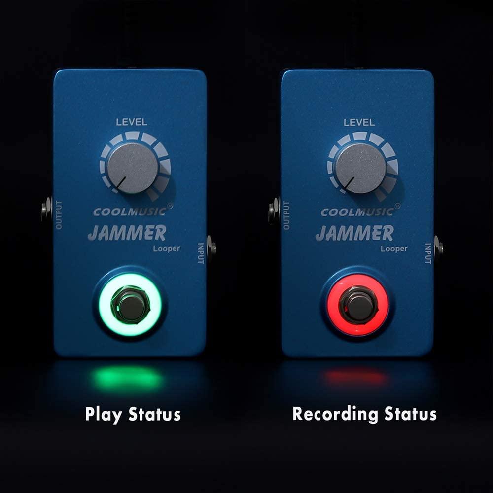 Coolmusic A-LP01 Digital Circuit Looper Guitar Effects Pedal