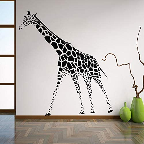 Giraffe Wall Decals Cute Animals Wall Stickers for Nursery Art Mural for Kids Bedroom Baby Room Home Decor 42 47Cm