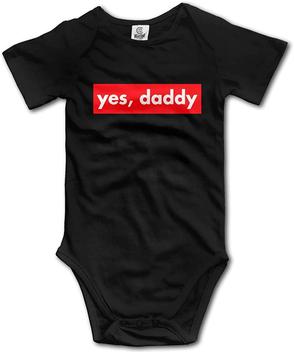 Yes Daddy Baby Climbing Short Sleeve Onesie 18-24 Months