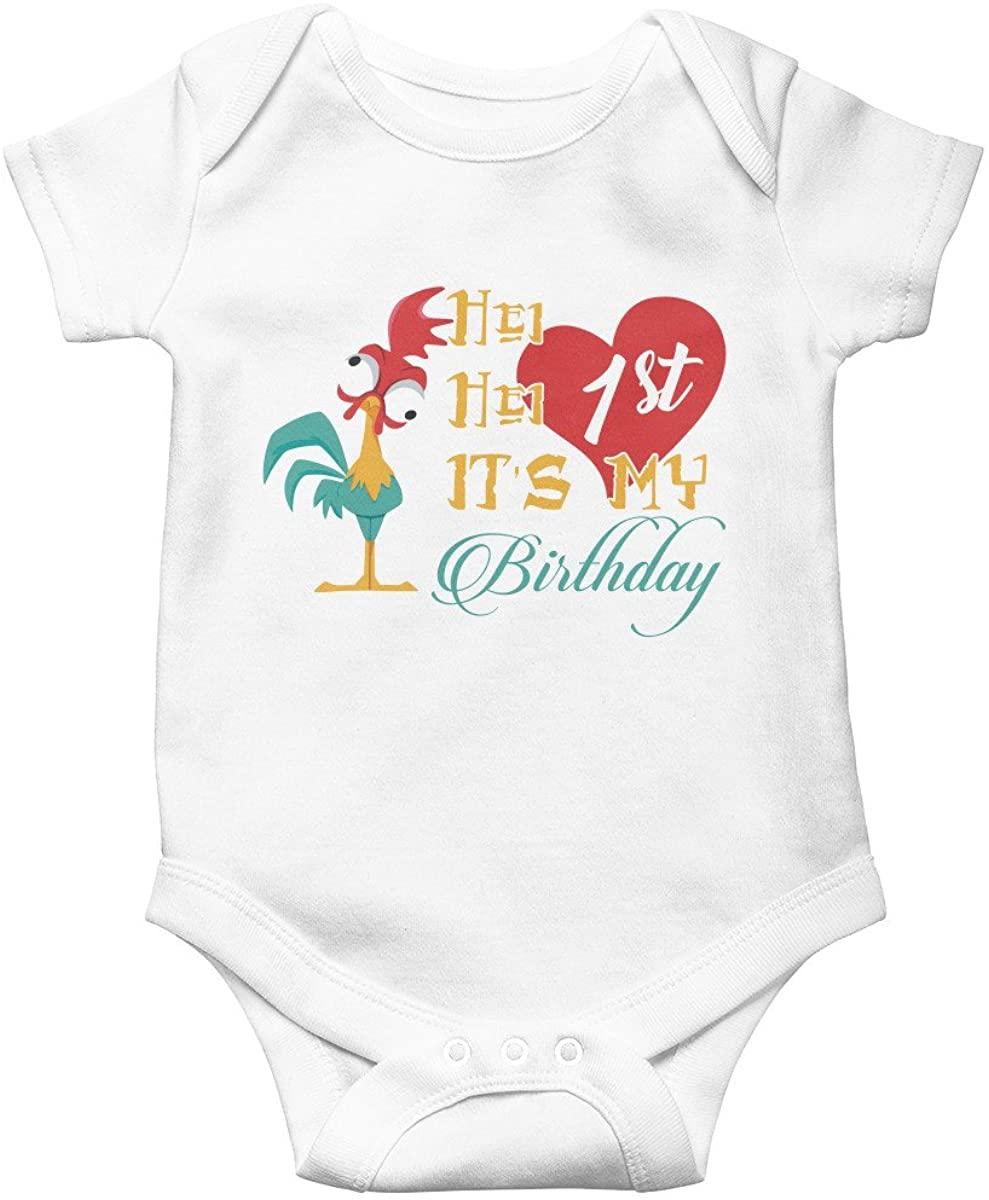 Poogky HEI HEI It's My 1st Birthday Baby Infant Bodysuit