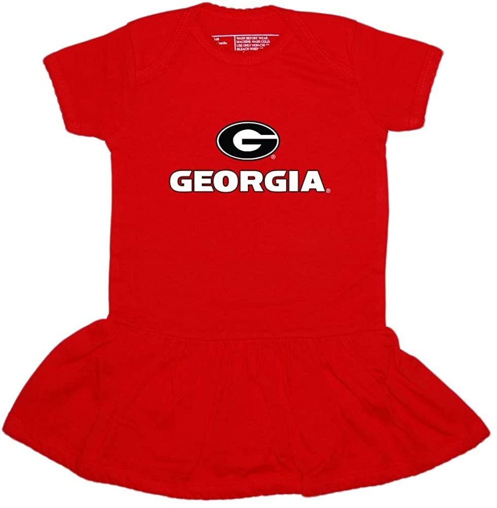University of Georgia Bulldogs Circle G Picot Bodysuit Dress
