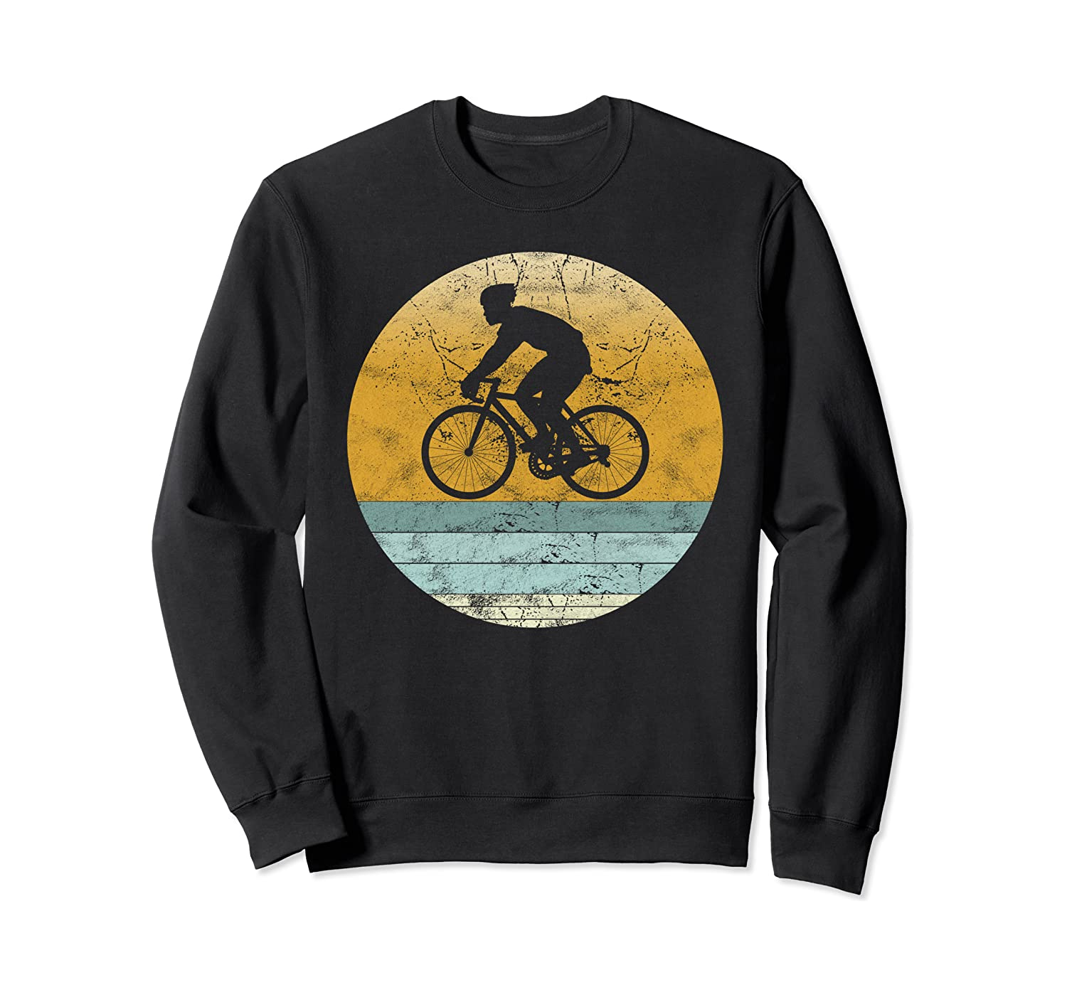 Retro Cycle Vintage Style Cycling Sport Gift - Unisex Sweatshirt