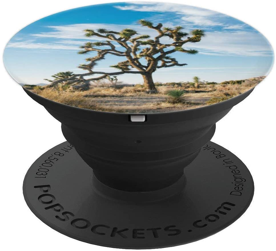 Joshua Tree National Park California Gift Desert Camping PopSockets Grip and Stand for Phones and Tablets