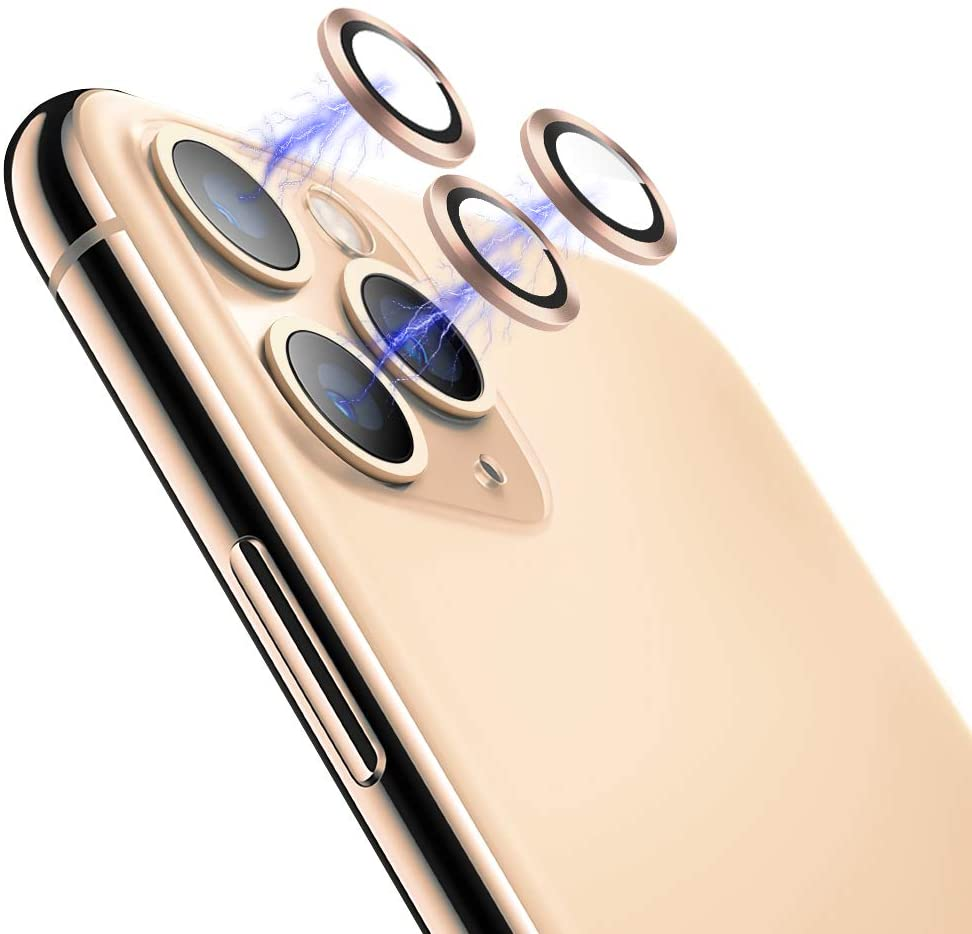 [Set of 3] Eelliss Camera Lens Protector for iPhone 11 Pro(5.8