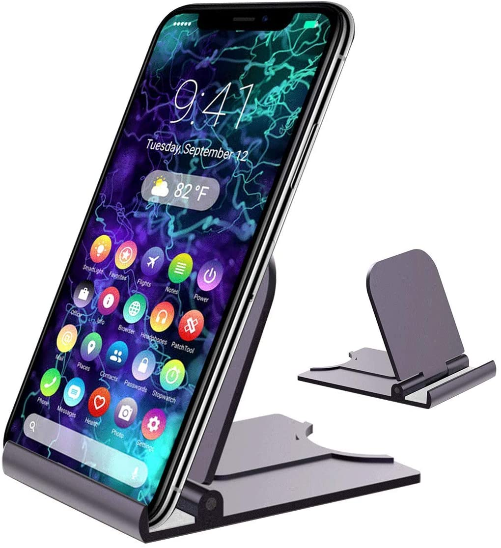 Adjustable Cell Phone Stand Tablet Stand Gray 1P